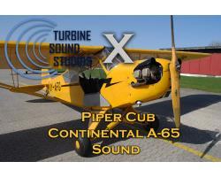 Piper Cub Continental 65 Sound Pack for FSX/P3D
