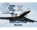 Tupolev 154M Soloviev D-30 Sound Pack for FSX/P3D