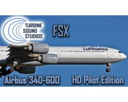 Airbus A340 Trent-500 HD Pilot Edition Sound Pack for FSX/P3D