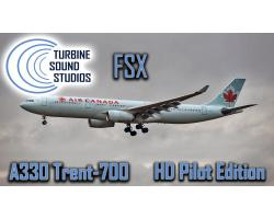 Airbus A330 Trent-700 HD Pilot Edition Sound Pack for FSX/P3D