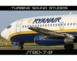 Boeing 737-200 JT8D engine sound pack for FSX/FS2004