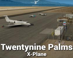 KTNP Twentynine Palms Airport Scenery
