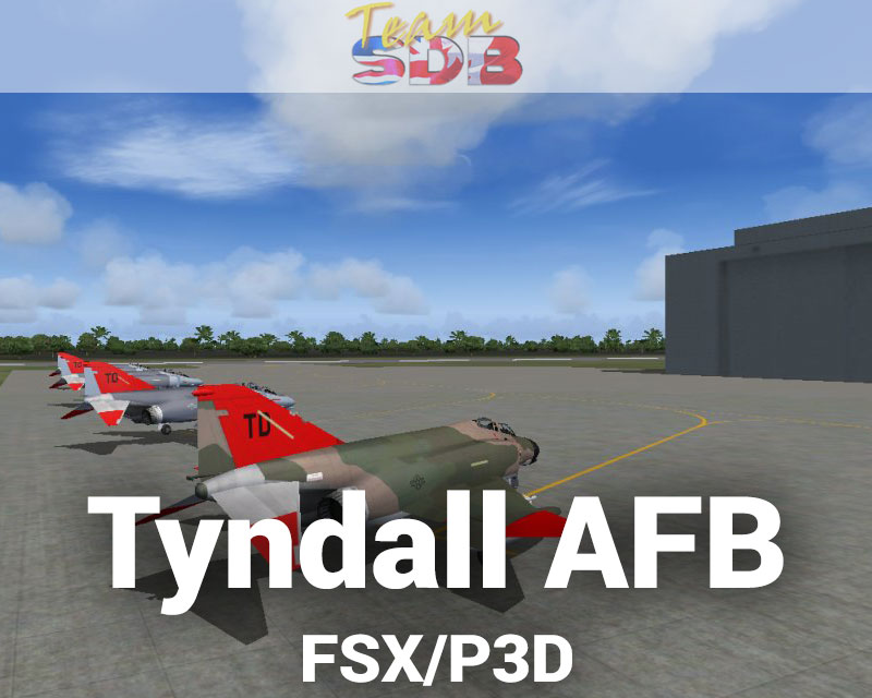 Tyndall afb scenery for fsx p3d by team sdb for Tyndall afb alloggio cabine