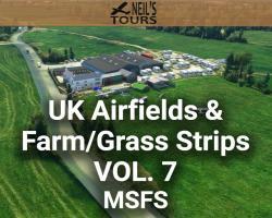 UK Airfields & Farm/Grass Strips Scenery Vol. 7