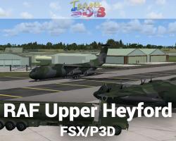 RAF Upper Heyford Scenery