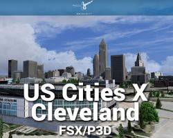 Cleveland Scenery US Cities X for FSX/P3D
