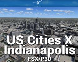 Indianapolis Scenery US Cities X