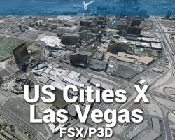 Las Vegas Scenery US Cities X for FSX/P3D