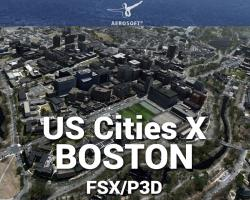 Boston Scenery US Cities X for FSX/P3D