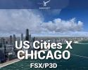 Chicago Scenery US Cities X for FSX/P3D