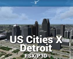 Detroit Scenery US Cities X