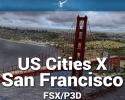 San Francisco Scenery US Cities X for FSX/P3D