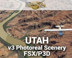 Utah - MegaSceneryEarth V3 for FSX/P3D