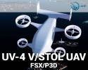 UV-4 V/STOL UAV for FSX/P3D