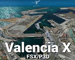Valencia X Scenery for FSX/P3D