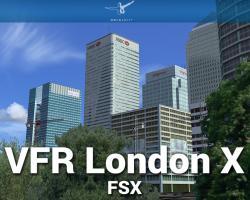VFR London X Scenery