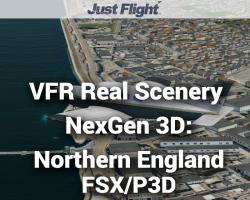 Northern England Photoreal Scenery for FSX/P3D - VFR Real Scenery NexGen 3D Vol. 3
