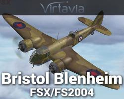 Bristol Blenheim for FSX/FS2004