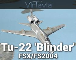 Tupolev Tu-22 'Blinder' for FSX/FS2004
