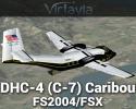 De Havilland DHC-4 (C-7) Caribou for FSX/FS2004