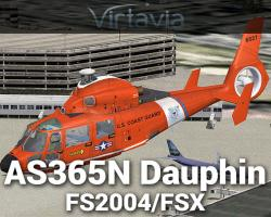 Eurocopter AS365N Dauphin for FSX/FS2004