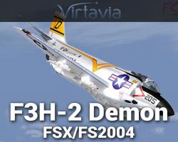 McDonnell F3H-2 Demon for FSX/FS2004