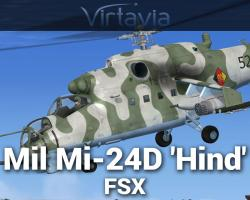 Mi-24 'Hind-D' for FSX