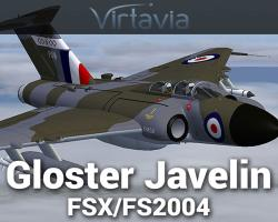 Gloster Javelin for FSX/FS2004