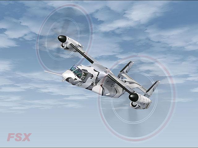 Bell-Boeing V-22 Osprey for FSX/FS2004