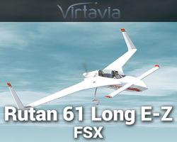 Rutan 61 Long E-Z for FSX/FS2004