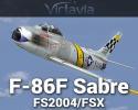 F-86F Sabre for FSX/FS2004