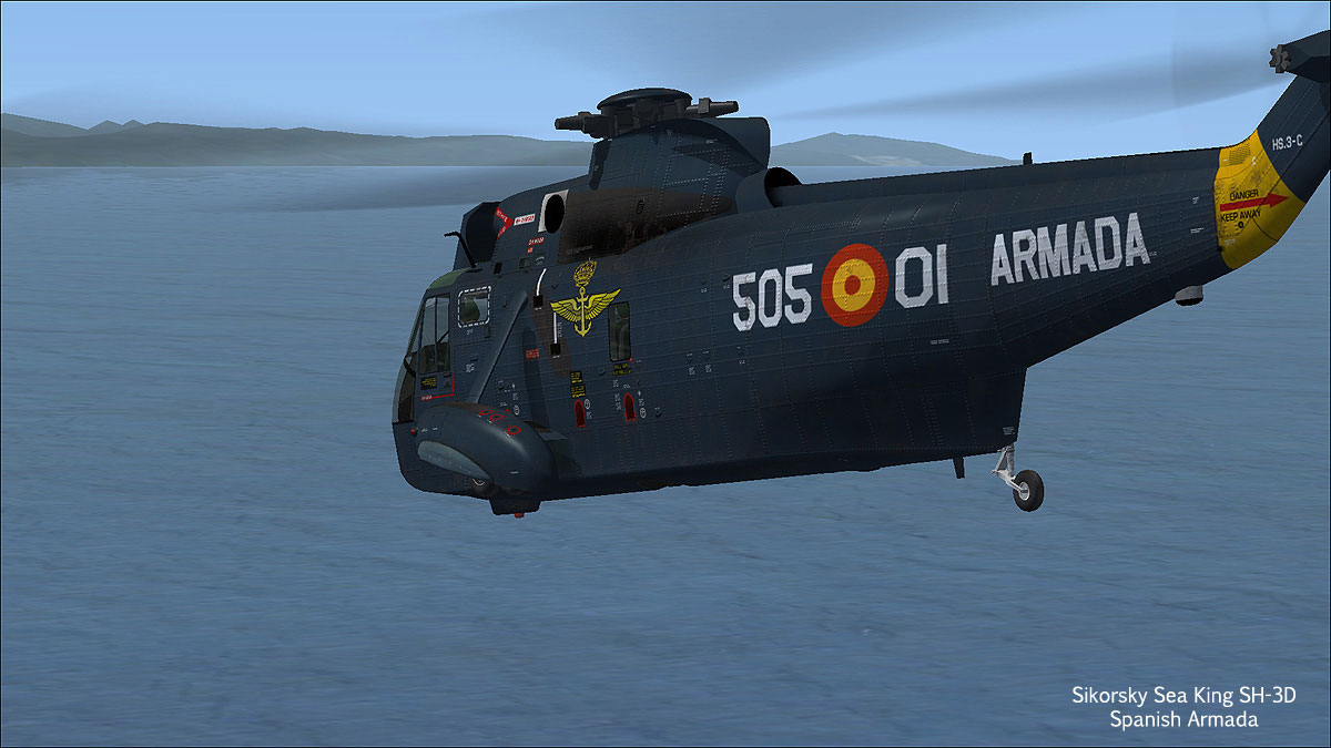 Sikorsky SH-3 Sea King for P3Dv4