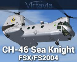 CH-46 Sea Knight for FSX/FS2004