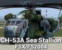 CH-53A Sea Stallion for FSX/FS2004