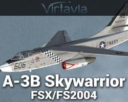 A-3B Skywarrior for FSX/FS2004