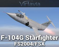 F-104G Starfighter for FSX/FS2004