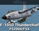 F-105D Thunderchief for FSX/FS2004