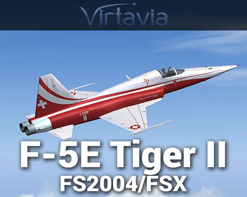 F-5E Tiger II for FSX/FS2004