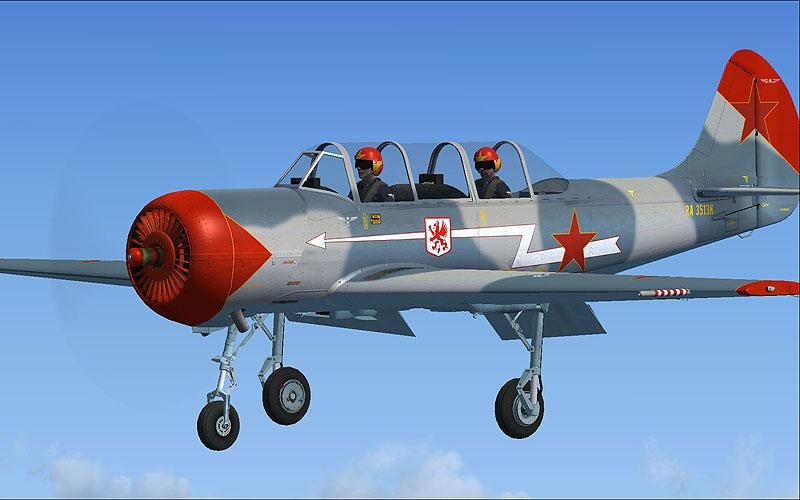 Yakovlev Yak-52 for FSX/FS2004
