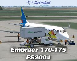 Embraer 170-175 Regional Jets for FS2004