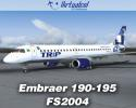 Embraer 190-195 Regional Jets for FS2004