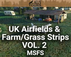 UK Airfields & Farm/Grass Strips Scenery Vol. 2 for MSFS
