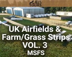 UK Airfields & Farm/Grass Strips Scenery Vol. 3