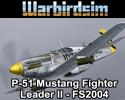 North American P-51 Mustang Fighter Leader II for FS2004