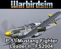 North American P-51 Mustang Fighter Leader II