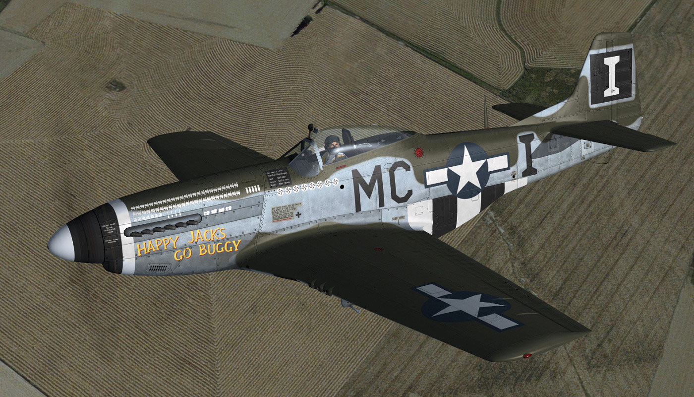 """""""Happy Jack's Go Buggy, Then and Now"""": The P-51D Mustang ..."""
