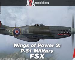 P-51 Mustang Military Accu-Sim