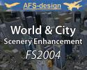 World & City Scenery Enhancement for FS2004