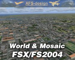 World & Mosaic for FSX/FS2004