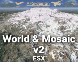 World & Mosaic v2 Global Scenery Enhancement